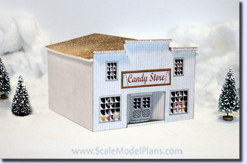 Christmas Village Candy Store